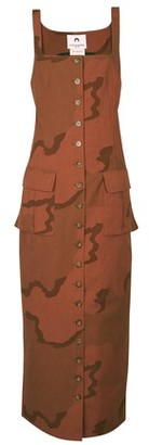 Marine Serre Military dress
