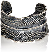 M. Cohen Men's Feather Cuff Ring-SILVER