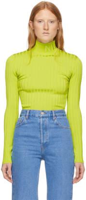 Nina Ricci Green Knit Turtleneck