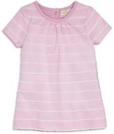 Kate Spade Infant Girls' Scallop Striped Shift Dress - Sizes 3-9M