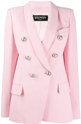 Balmain Button Embellishment Blazer