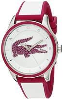 Lacoste Women's 'VICTORIA' Quartz Multi Color Casual Watch (Model: 2000927)