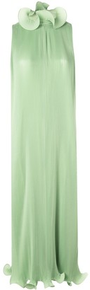 Tibi Pleated Sleeveless Dress