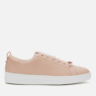 Ted Baker Women's Tedah Branded Leather Trainers