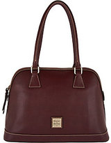 Dooney & Bourke As Is Saffiano Leather Domed Satchel