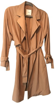 MANGO Beige Trench Coat for Women