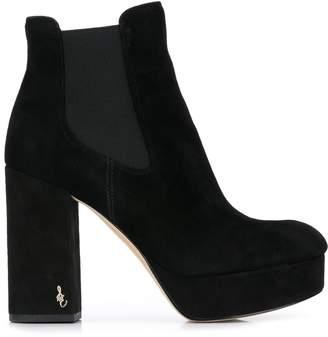 Sam Edelman platform 105mm ankle boots