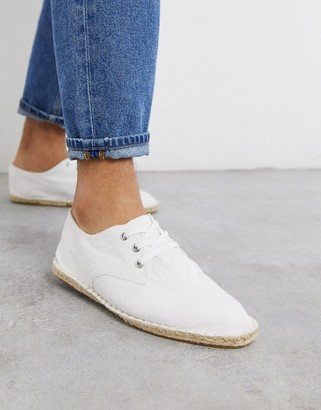 Men Shoes Espadrille Lace Up | Shop the