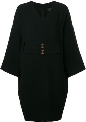 Fendi Pre Owned 1990's Belted Short Dress