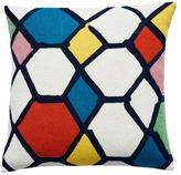 Judy Ross Textiles Kaleidoscope Pillow