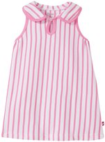 Zutano Breton Keyhole Collar Dress (Baby) - Hot Pink - 6 Months