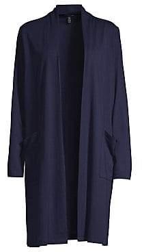 Eileen Fisher Women's Long Cardigan