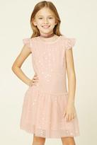 Forever 21 FOREVER 21+ Girls Star Print Dress (Kids)