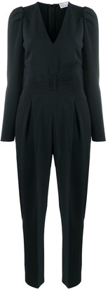 RED Valentino Bow-Detail Tuxedo Jumpsuit