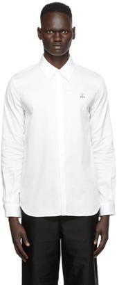 Undercover White Hidden Placket Shirt