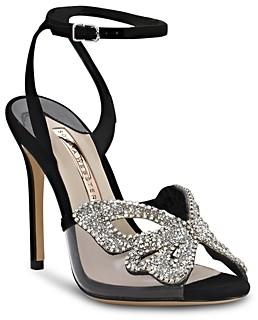 Sophia Webster Women's Madame Crystal-Embellished High-Heel Sandals