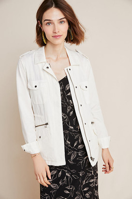 Foxtrot Utility Jacket By Cartonnier in White Size XS