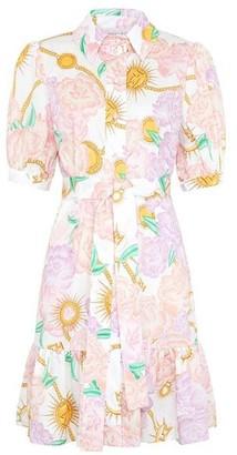 Hayley Menzies Luna Flora Short Dress - Small