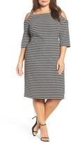 Gabby Skye Sheath Dress (Plus Size)
