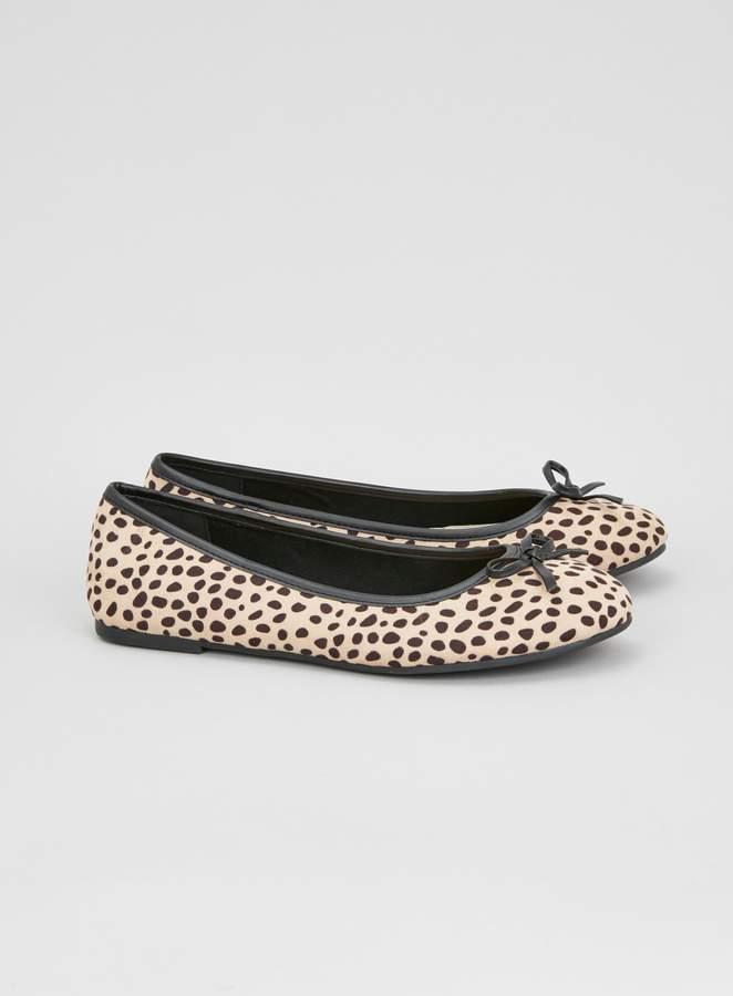 6d9008426c26 Leopard Print Ballet Pumps - ShopStyle UK