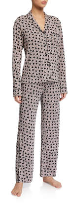 PJ Salvage Heart to Heart Classic Pajama Set