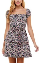 Thumbnail for your product : City Studios Juniors' On-and Off-The-Shoulder Fit & Flare Dress