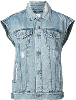 Ksubi sleeveless denim jacket