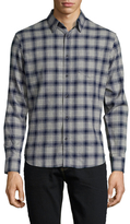 Slate & Stone Cotton Checkered Sportshirt
