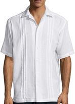 Haggar Short-Sleeve Linen-Rayon Shirt