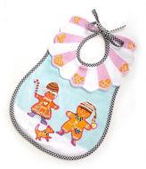 Mackenzie Childs MacKenzie-Childs Terry Gingerbread Bib, Multicolor