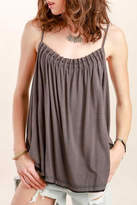 POL Pleated Beaded Camisole