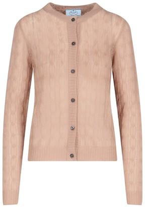 Prada Buttoned Long Sleeve Cardigan