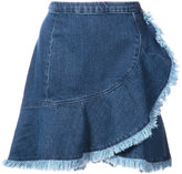 Tanya Taylor Tamy denim skirt