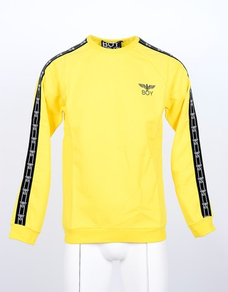 Boy London Yellow Lemon W/Signature Ribbon Men's Sweatshirt
