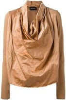 Andrea Ya'aqov draped front sweatshirt