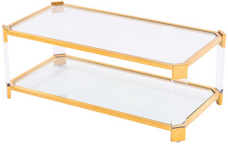 Blink Home Pasadena Cocktail Table, Antique Gold