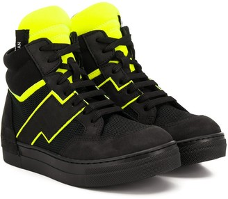 Cinzia Araia Kids high-top sneakers