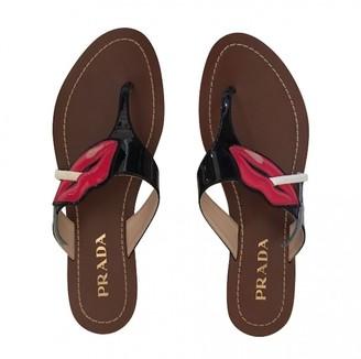 Prada Multicolour Patent leather Sandals