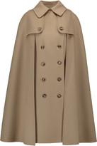 Michael Kors Melton cape-effect wool coat