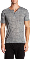 Bottoms Out Fancy Yarn Short Sleeve Henley Tee