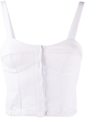Forte Forte Bustier Cropped Top