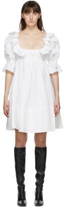 Brock Collection White Romana Dress