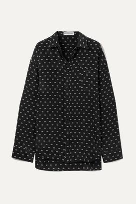 Balenciaga Masculin Printed Silk Shirt