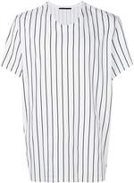 Haider Ackermann striped round-neck T-shirt