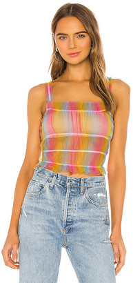 superdown Lo Ruched Top