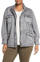 Caslon Utility Jacket (Plus Size)