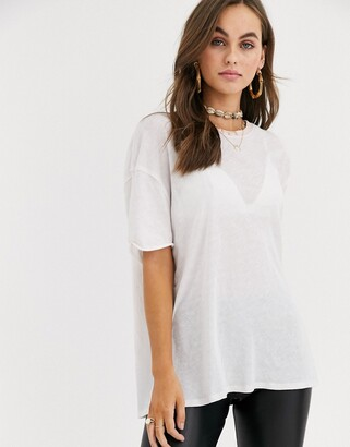 Free People Clarity ringer t-shirt