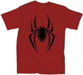 Spiderman Novelty T-Shirts Marvel Comic Logo Tee