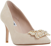 Dune Betti Embellished Stiletto Heeled Court Shoes