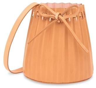 Mansur Gavriel Cammello Mini Pleated Bucket Bag - Rosa
